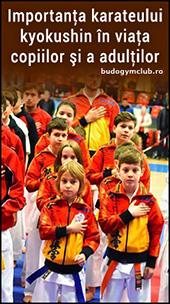 Importanta karateului kyokushin in viata copiilor si a adultilor